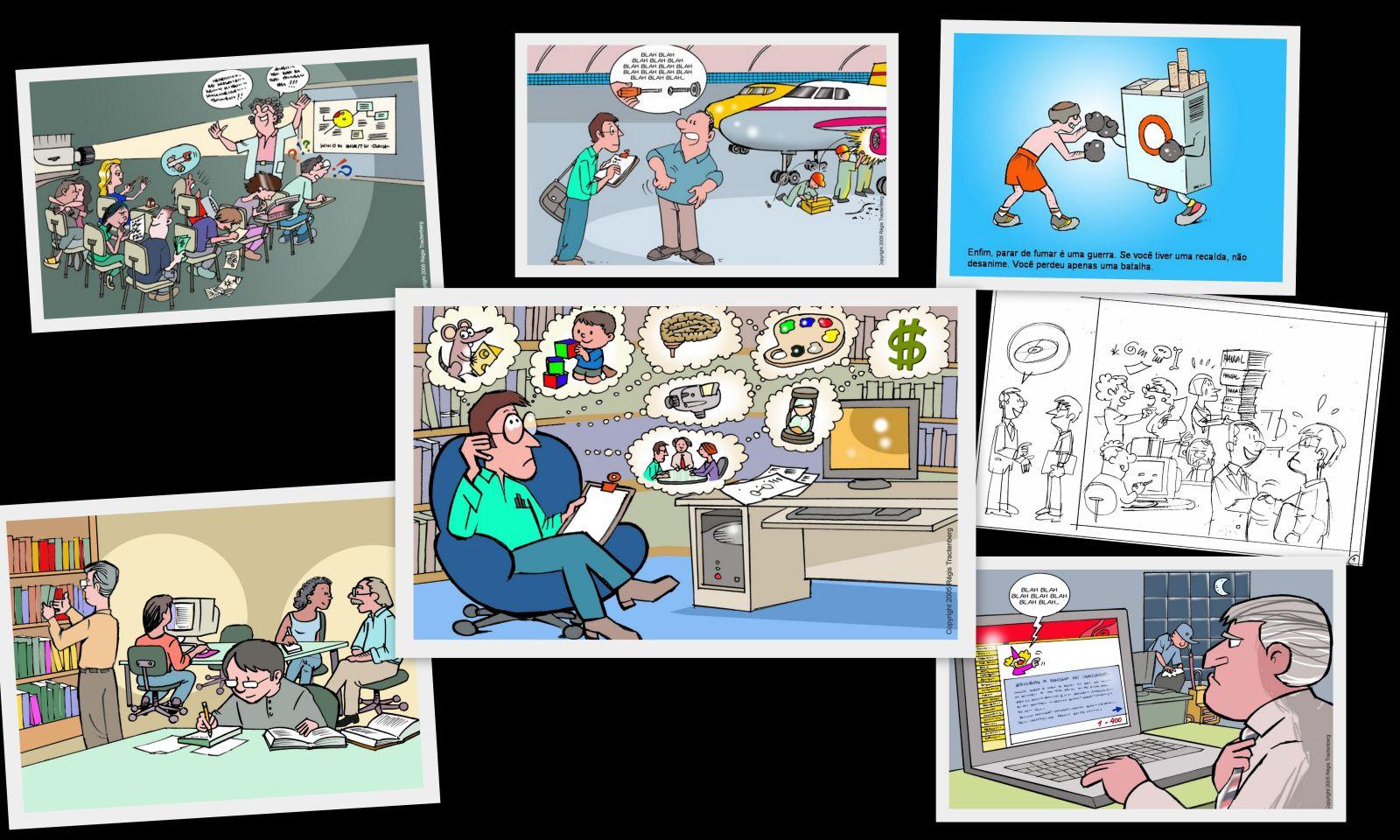 Ilustracoes de projetos - red
