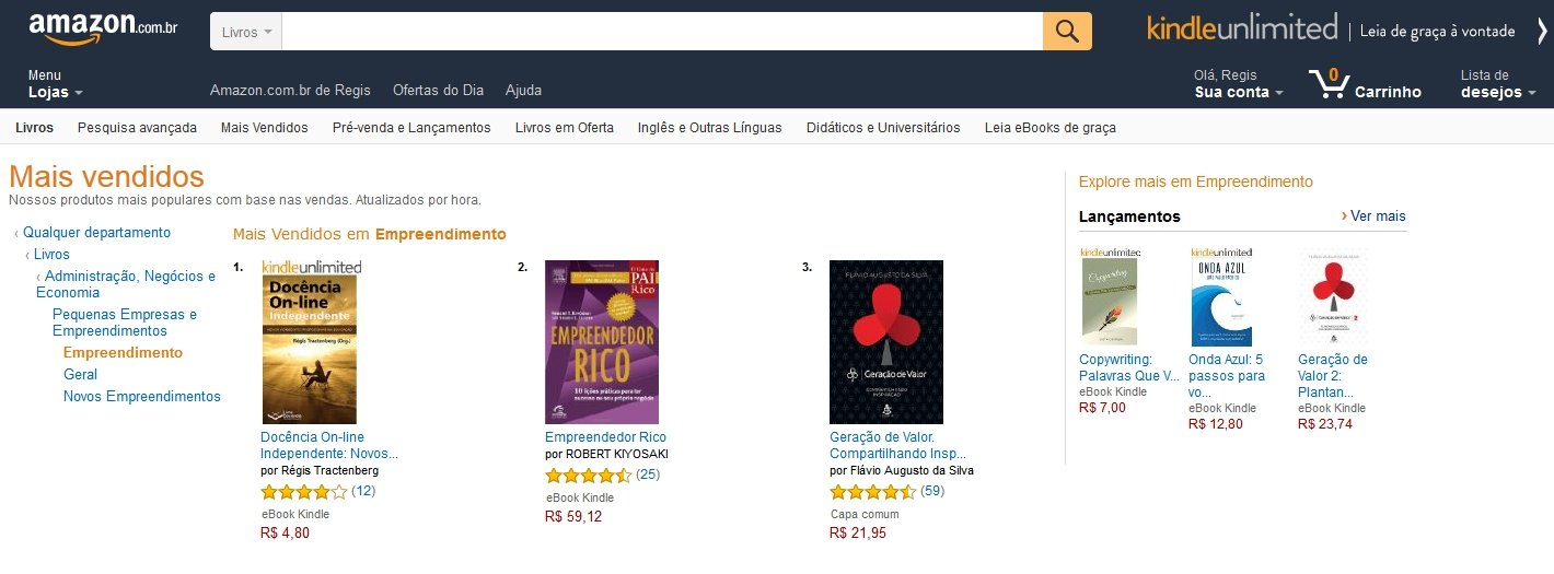Livro DO-In - Ranking Amazon 22-11-2015 Categoria Empreendedorismo