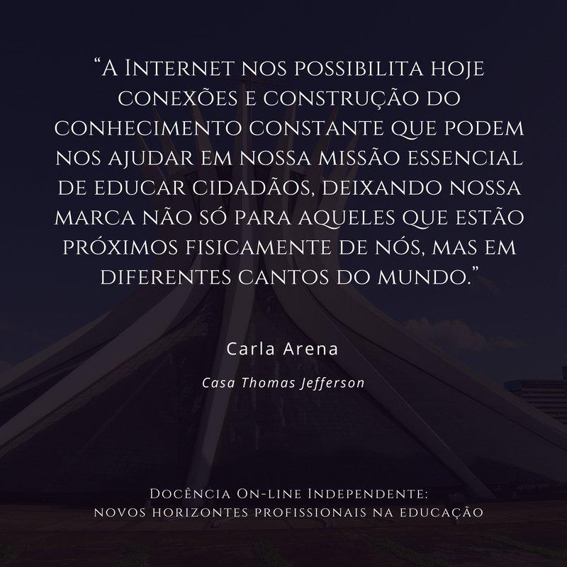 Frase Carla Arena
